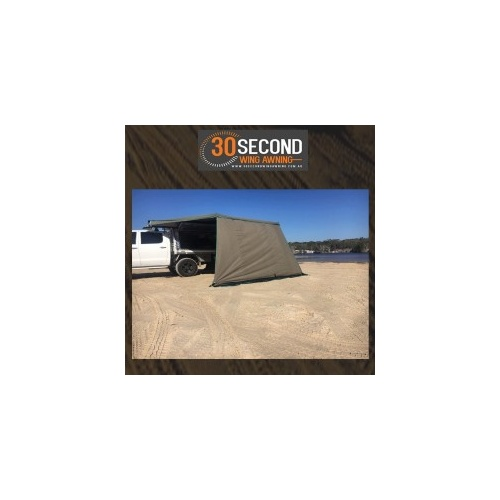 30 Second Wing Awning Wall